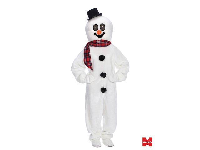 Snowman Suit Adult Costume