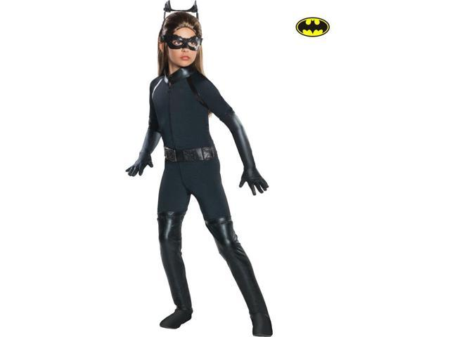 Girl's Deluxe Catwoman Costume