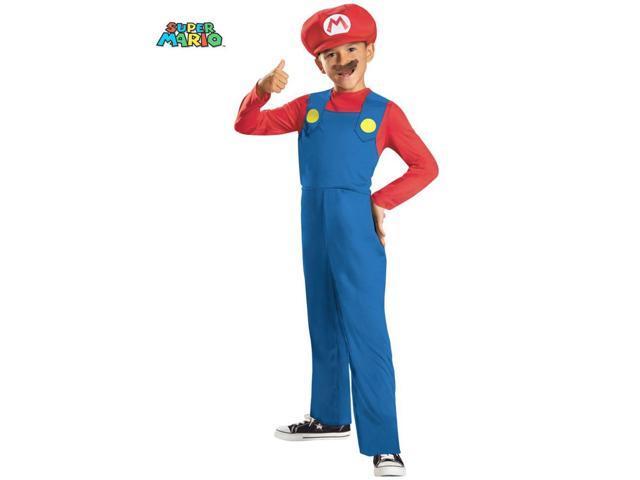 Super Mario Bros Mario Costume for Boys