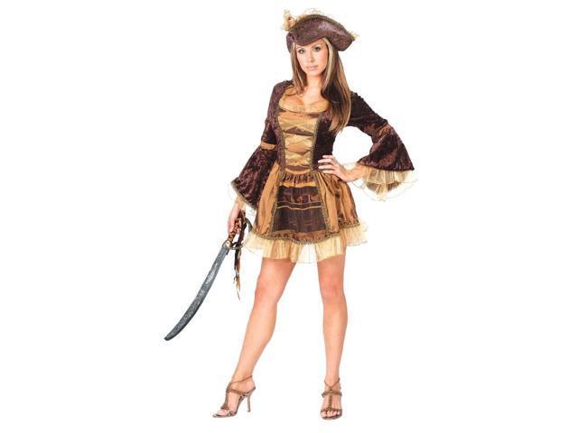 Adult Sassy Victorian Pirate Costume