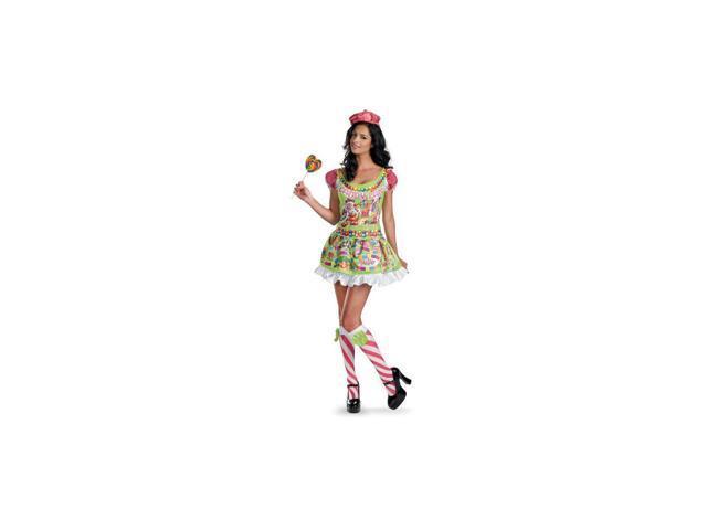 Deluxe Candyland Women's Costume