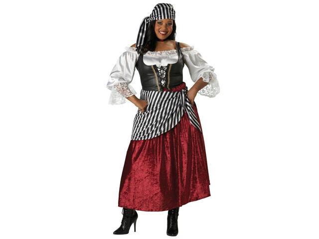Women's Pirate Wench Plus Costume