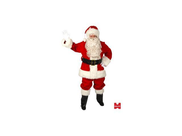 Red Velvet Santa Suit for Men