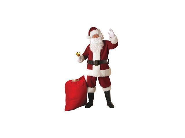 Adult Deluxe Plus Santa Suit (XL) Rubies 23371