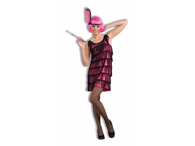 Hot Pink Jazzy Flapper Adult Costume