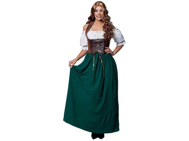 Medieval Peasant Costume for Women