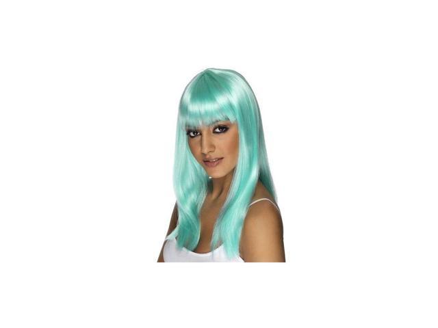 Glamarama Neon Aqua Women's Wig