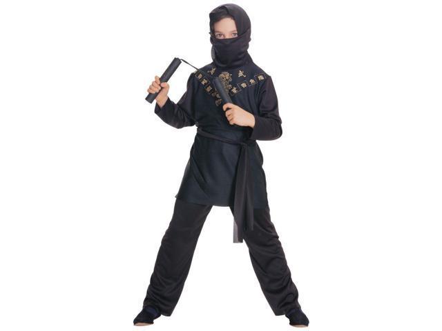 Kid's Black Ninja Costume