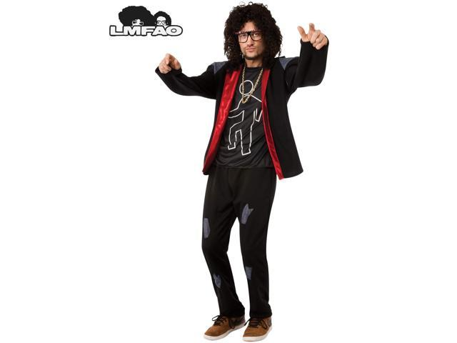 LMFAO SkyBlu Party Rock Anthem Adult Costume