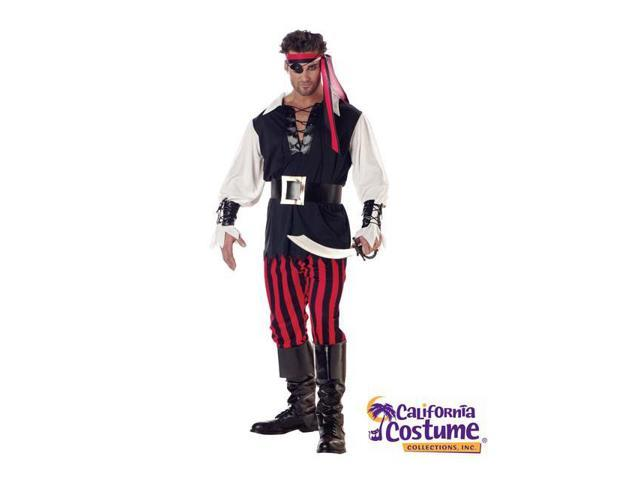 Adult Sized Cutthroat Pirate Costume