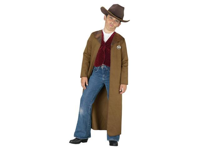 Old West Sheriff Kid's Costume