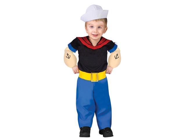 Popeye Infant Toddler Costume