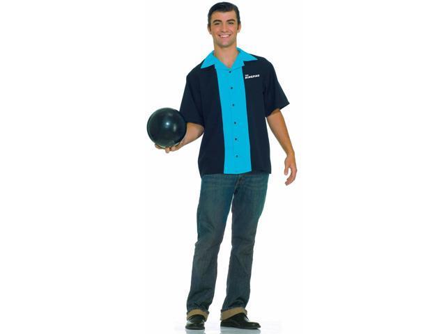 Men's Bowling Shirt Costume