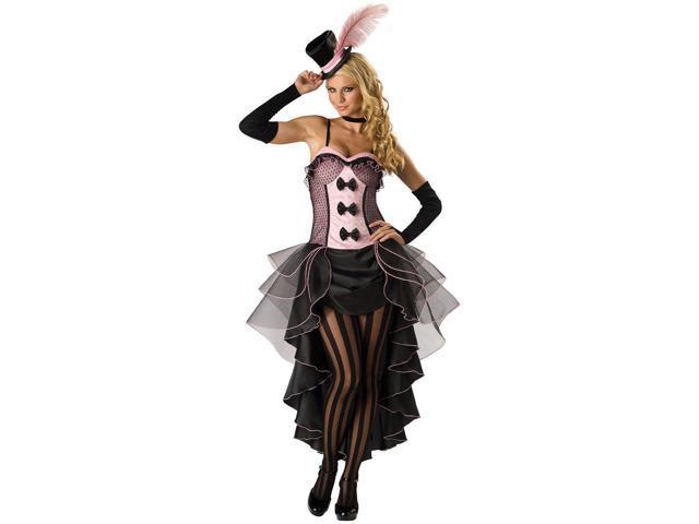Sexy Burlesque Babe Women's Elite Costume
