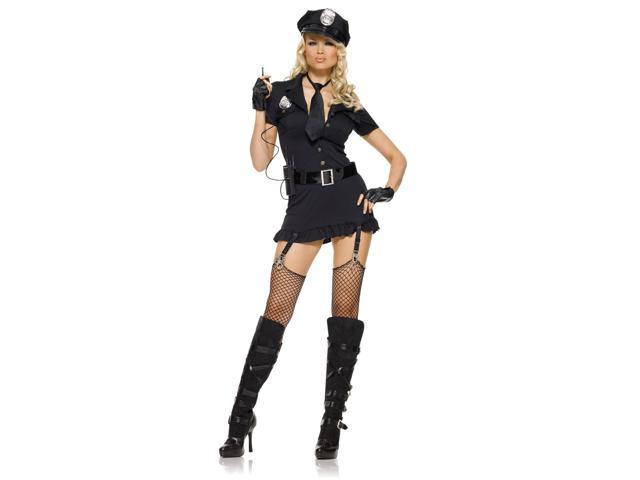 Sexy Women's Dirty Cop Costume