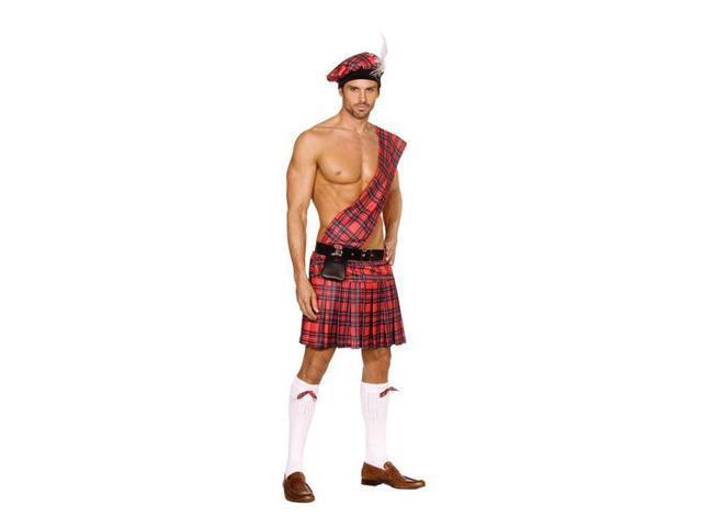 Men's Hot Scottie Costume