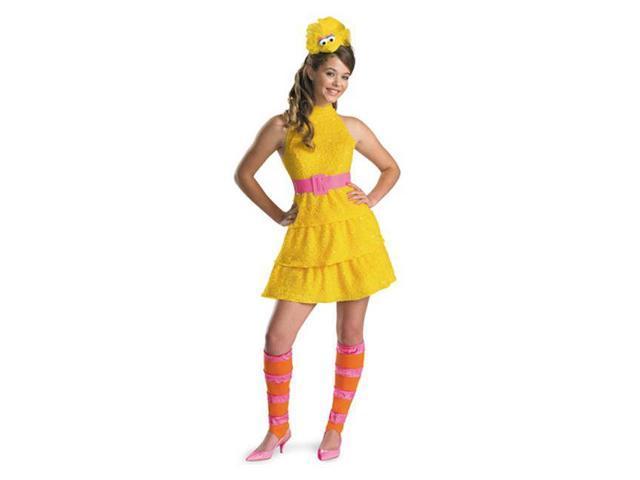 Sassy Big Bird Sesame Street Girl's Costume