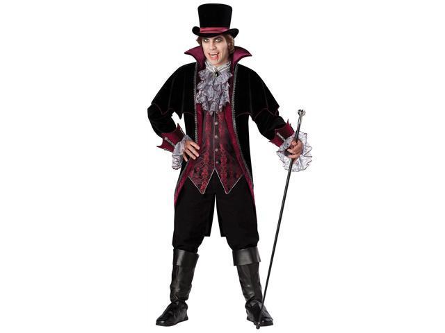 Vampire of Versailles Men's Costume