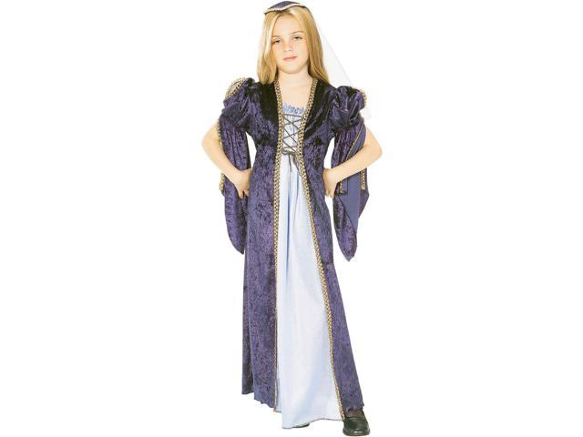 Girl's Velvet Juliet Costume