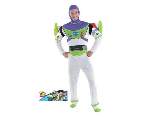 Buzz Lightyear Men's Deluxe Costume