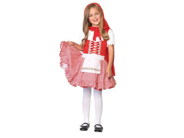 Lil Miss Red Riding Hood Girl's Costume