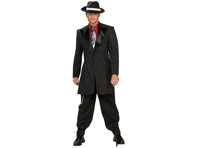 Men's Swanky Gangster Costume