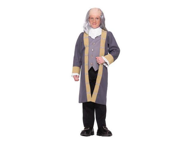 Classic Ben Franklin Boy's Costume