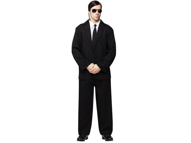 Black Suit Costume - Mens