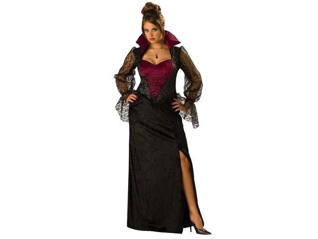 Midnight Vampiress Plus Women's Costume
