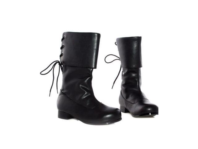 Children's Black Buccaneer Boots