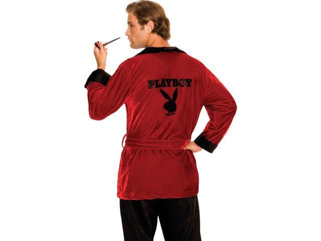 Playboy Red Smoking Jacket Costume for Men