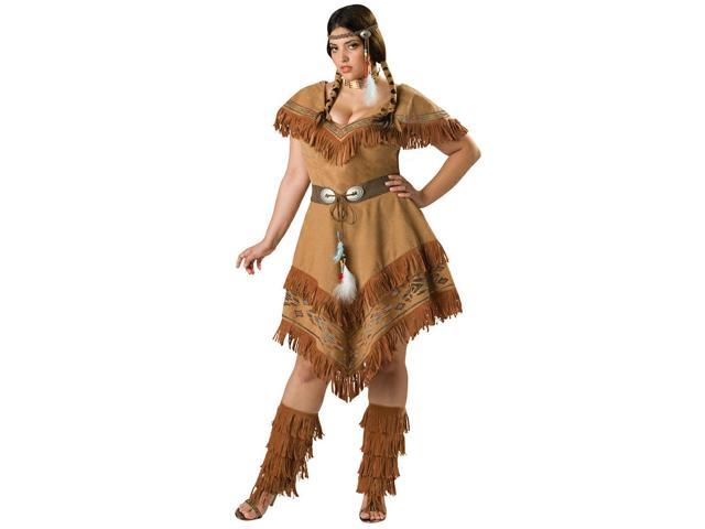 Indian Maiden Women's Plus Costume
