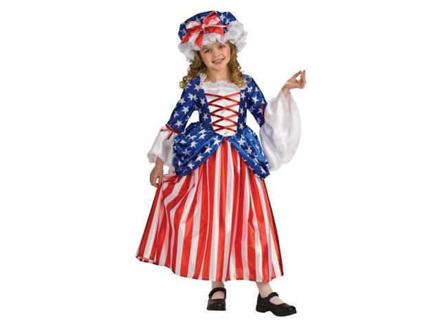 Girls Betsy Ross Child Costume