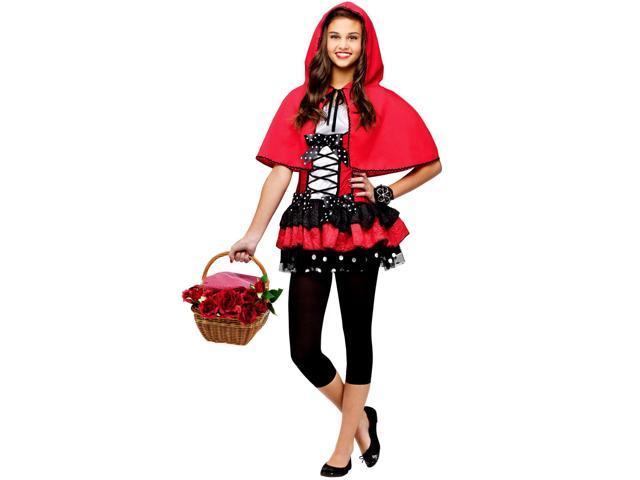Sweet Girl Red Riding Hood Teen Costume