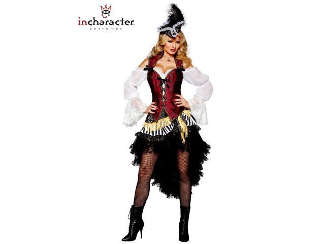 Elite Women's Sexy High Seas Treasure Pirate Costume
