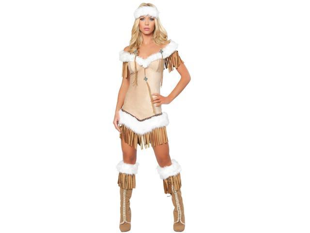 Indian Snow Princess Women's Sexy Costume