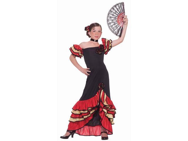 Flamenco Girl Costume