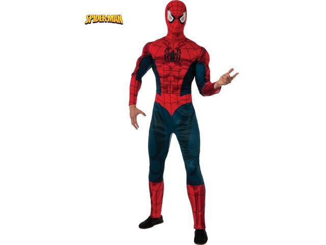 Adult Classic Spiderman Muscle Chest Costume