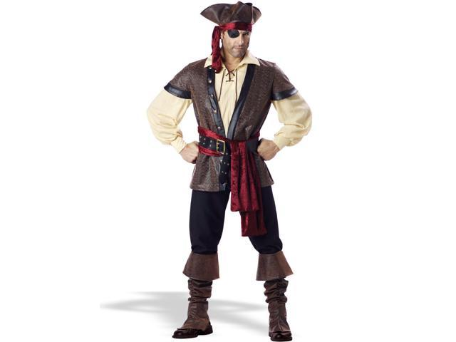 Men's Elite Rustic Pirate Costume