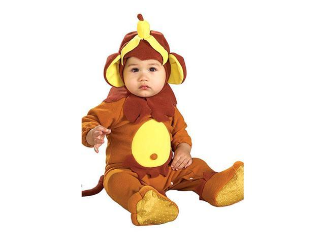 Infant Monkey See Monkey Do Romper Costume