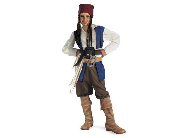 Jack Sparrow Boys Pirates of the Caribbean Costume