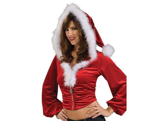 Women's Sexy Santa Hoodie