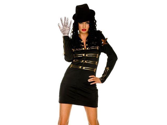 The Gloved One Sexy Military Dress Women's Costume