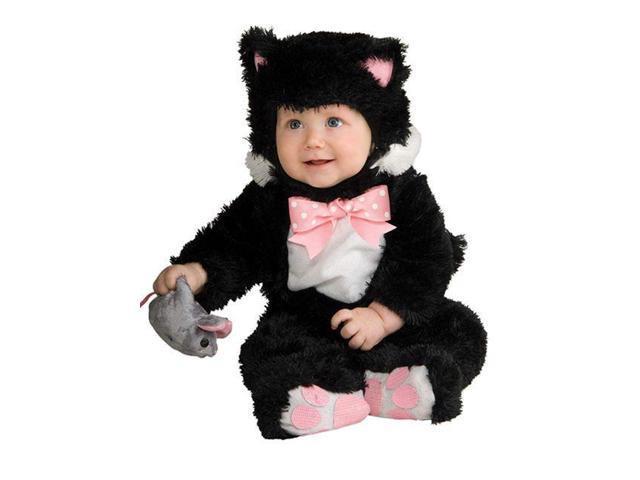 Baby Inky Black Kitty Costume