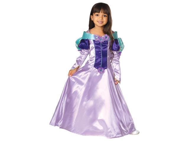 Regal Purple Princess Costume for Girls