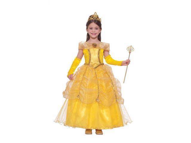 Golden Princess Girl's Costume