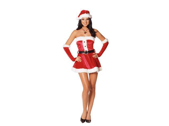 Adult Santas Sweetie Costume
