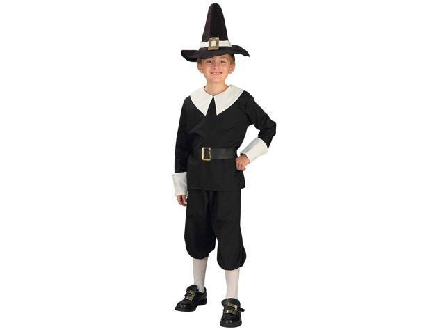 Boy Colonial Pilgrim Costume