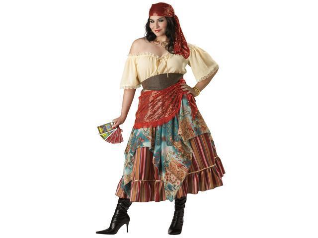 Fortune Teller Elite Women's Plus Costume