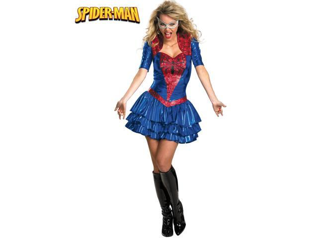 Adults Deluxe Sassy Spider-girl Costume for Women